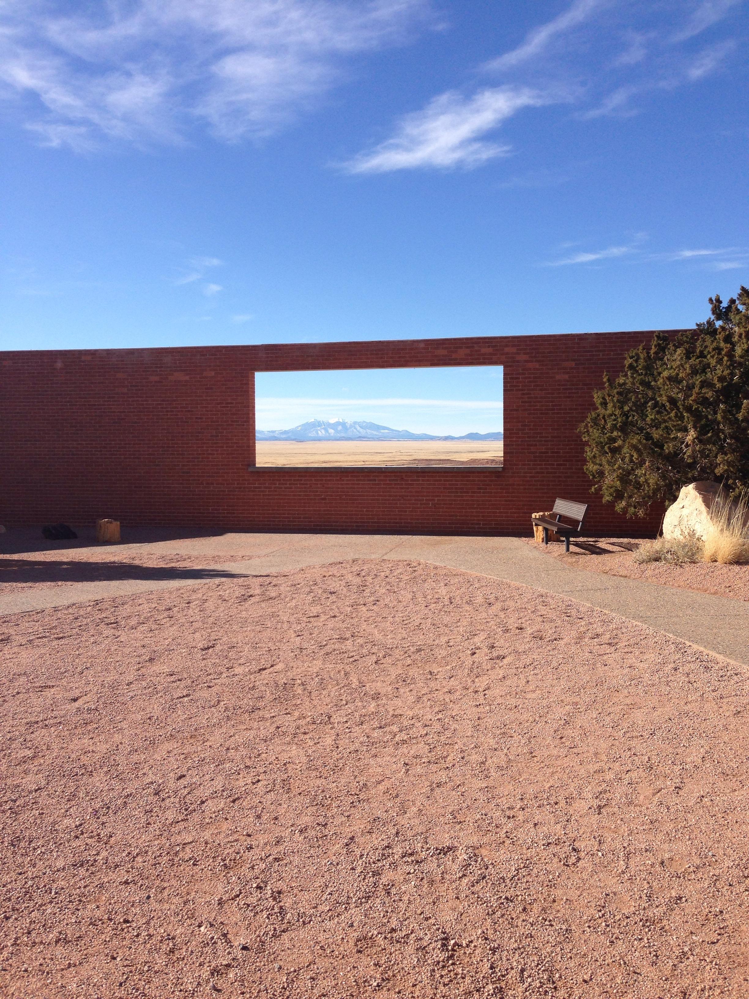 A glimps into the future or past at Meteor Creator Arizona.  Copyright © 2013 Mason Hayutin