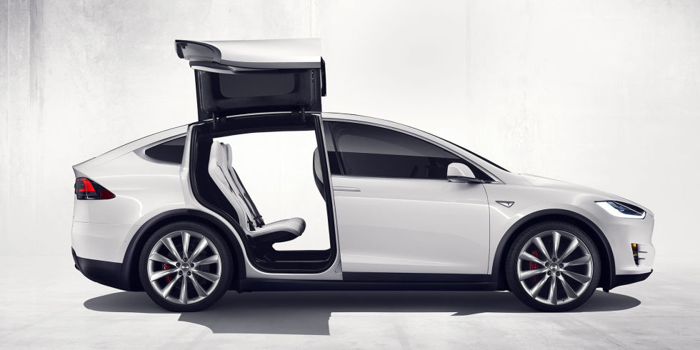 American Made Telsa Model X
